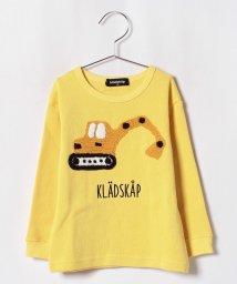 kladskap/ニット編み働く車Tシャツ/501200121
