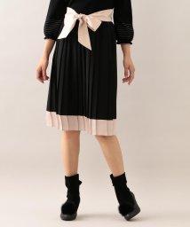 TO BE CHIC/ノルディスジョーゼットプリーツスカート/501225080