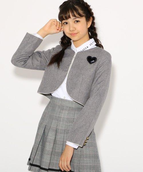 PINK-latte(ピンク ラテ)/【卒服】ボレロ ジャケット/99990931941033