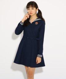 PINK-latte/【卒服】セーラー ワンピース/501226778