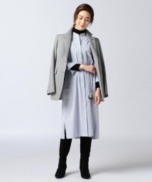 NIJYUSANKU/【洗える】Canclini ファインシャーティング シャツワンピース/501227078