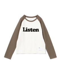 こどもビームス/6°vocale / コンビカラー ラグランスリーブ Tシャツ 18 130~140cm)/501227197