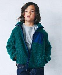 green label relaxing (Kids)/【ジュニア】タマボア スタンド ジップブルゾン/501227285