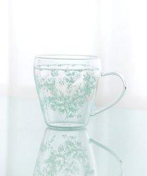 Afternoon Tea LIVING/線画フラワー柄耐熱ガラスマグカップ/501137520