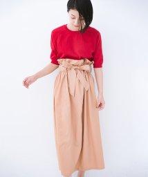 haco!/パッと着てかわいい ウエストリボンの楽ちんスカート/501179986