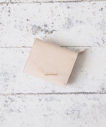 Afternoon Tea LIVING/V字カットレザー三つ折り財布/501185835