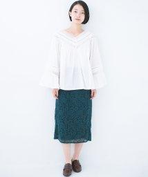 haco!/楽してきれい&女っぽが叶うレースタイトスカート/501192906