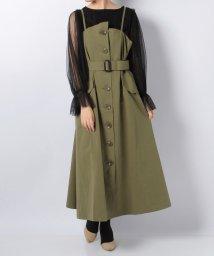 en recre/【GALENA】トレンチ風キャミワンピ-ス/501193362