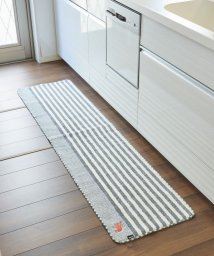 En Fance/【moz】 タフトキッチンマット グレー 45×240cm/501198012