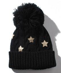 b-ROOM/星形アップリケつきニット帽/501200573