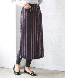 coen/レジメンタルストライプタイトロングスカート(タイトスカート/ストライプスカート)/501223538