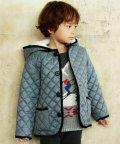 green label relaxing (Kids)/〔撥水加工〕〔ハンドウォッシャブル〕ナカワタ キルト フード コート/501227351