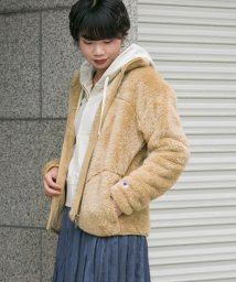 URBAN RESEARCH/Champion×URBAN RESEARCH 別注シェルパフリースジップブルゾン/501228178