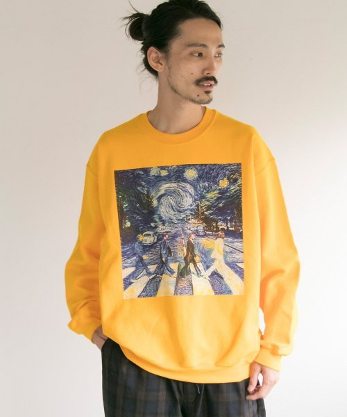 URBAN RESEARCH(アーバンリサーチ)/BOWWOW×URBAN RESEARCH 別注 ROAD CREW-NECK SWEAT/BW-UR02-UM86