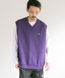 URBAN RESEARCH/VOTE MAKE NEW CLOTHES×UR iD 別注BIG SWEAT VEST/501229348