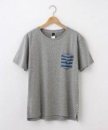 BASECONTROL/【WEB限定】ポケット ボーダー 半袖Tシャツ/501229602