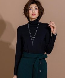 ICB(LARGE SIZE)/【伸縮性&光沢感】High Necked Jersey カットソー/501229669