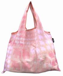 En Fance/【moz】 折りたたみショッピングバッグ ピンク/501198003