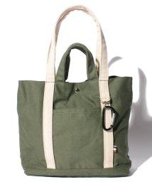 Laplace box/カラビナ付ダブルハンドルキャンバストート S/501200172