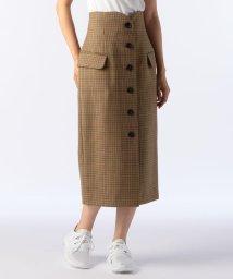 NOLLEY'S/ガンクラブチェックラップスカート/501205957