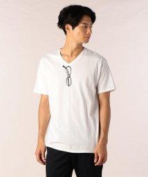 FREDYMAC/Vネックメガネ2 Tシャツ/501206000