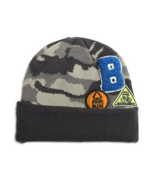 BREEZE / JUNK STORE/ワッペン付迷彩ニット帽/501208852