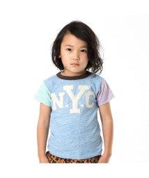 BREEZE/クレイジー袖切替Tシャツ/501210470
