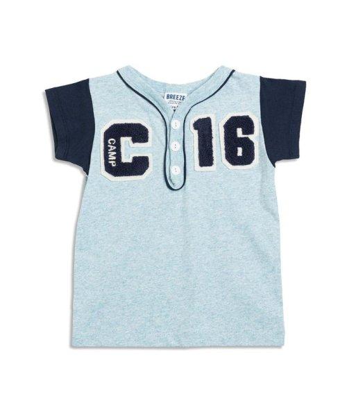 BREEZE(ブリーズ)/ベースボールTシャツ/J207317