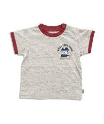 BREEZE/フード4柄リンガーTシャツ/501210481
