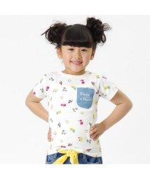 BREEZE/総柄デニムポケットTシャツ/501210503