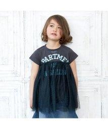 BREEZE/カレッジロゴチュール付きTシャツ/501210696