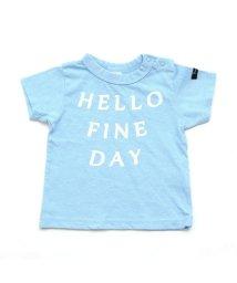 BREEZE / JUNK STORE/ペナントモチーフ付Tシャツ/501210746
