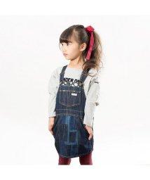 BREEZE / JUNK STORE/刺繍パッチワークジャンパースカート/501212374