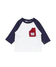 F.O.KIDS / F.O.KIDS MART/ポケット付き7分袖Tシャツ/501218139
