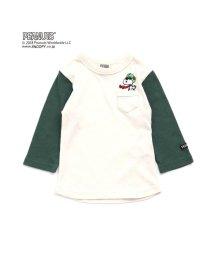 F.O.KIDS / F.O.KIDS MART/PEANUTS 8分袖Tシャツ(スヌーピー)/501218145