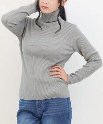 SocialGIRL/タートルネックリブニットセーター/501222703