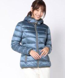 Viaggio Blu/~CAPE HORN~ フード付きカラーダウンジャケット/501229827