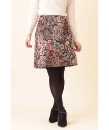 PROPORTION BODY DRESSING/【美人百花 11月号掲載】ゴブランジャガード台形スカート/501229981