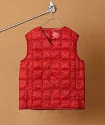 417 EDIFICE/TAION / タイオン 417 別注 V NECK BUTTON DOWN VEST/501230244