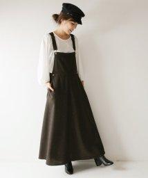 Spick & Span/【MITTERNACHT】 ツイードマキシジャンパースカート◆/501230363