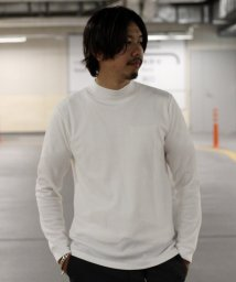 JOURNAL STANDARD relume Men's/TCワッフル モックネック サーマルL/S Tシャツ/501230781