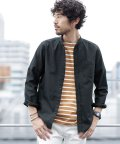 nano・universe/【WEB限定商品】オックスバンドカラーシャツ/501231972