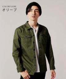 THE CASUAL/(アップスケープオーディエンス) Upscape Audience 日本製VENTILEファティーグシャツジャケット/501232816