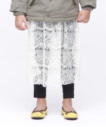 RUGGEDWORKS/ドットチュール刺繍付スカート/501200778