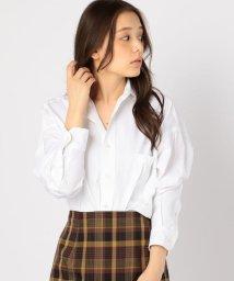SHIPS WOMEN/TICCA:スクエアビッグシャツ/501234475