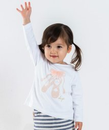 SHIPS KIDS/SHIPS KIDS:チュール フリル TEE(80~90cm)/501234511