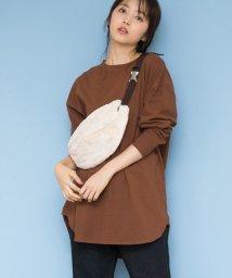 ViS/【WEB限定】サイドスリットビッグTシャツ/501235001
