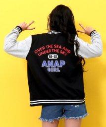 ANAP GiRL/BACKプリントスタジャン/501224292