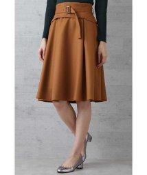 NATURAL BEAUTY BASIC/コルセットベルト付スカート/501234777