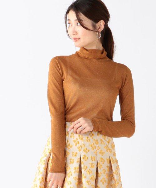 BEAMS OUTLET(ビームス アウトレット)/Demi-Luxe BEAMS / ラメ タートルニット/68150184639